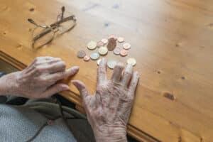 Die Altersrente fällt oft geringer aus als erwartet