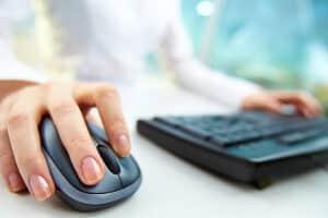 Antrag auf Anerkennung der Schwerbehinderung: Das Formular finden Sie auch im Internet.