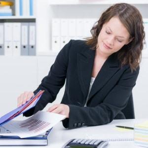 Arbeitslosengeld-I-Empfänger erhalten einen Leistungsnachweis von der Bundesagentur für Arbeit.