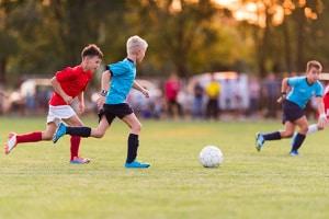 Durch das Bildungspaket werden u.a. sportliche Aktivitäten gefördert.