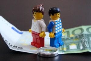 Wie erfolgt bei Hartz 4 die Anrechnung von Unterhalt nach der Scheidung?