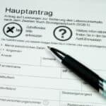 Der Hartz-4-Bescheid informiert über den Ausgang des Antrags.