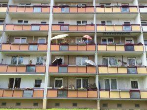 Bei einer Hartz-4-Wohnung sind die qm entscheidend.