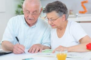 Schwerbehindertenrente: Der Antrag sollte 3 Monate vor Beginn der Rente erfolgen.